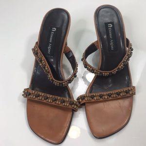 Etienne Aigner Shoes Size 9 M  Women Heels Leather